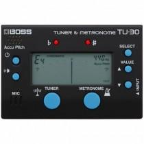 BOSS TU-30 TUNER & METRONOME - STEMAPPARAAT + METRONOOM