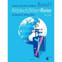 HELLBACH, DANIEL & JEANNETTE - ALTBLOCKFLOTENREISE 1 + 3CD