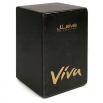 J.LEIVA PERCUSSION VIVA BLACK EDITION - CAJON BERKEN 48X30X32CM DTS TUNING