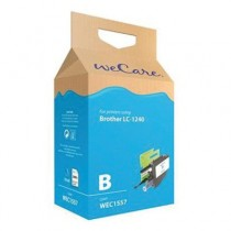 WECARE 1557 - INKTCARTRIDGE BROTHER LC1240 CYAN