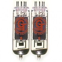 GROOVE TUBES TUBE GT-EL84-R MED DUET - BUIS EL84 MATCHED PAIR MEDIUM