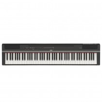 YAMAHA P-125 ZWART - PIANO DIGITAAL 88 GEWOGEN TOETSEN