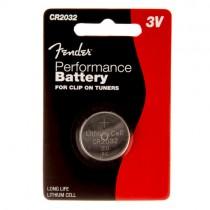 FENDER CR2032 PERFORMANCE BATTERY - BATTERIJ 3V KNOOPCEL