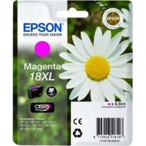 EPSON T 18 XL MAGENTA - INKTCARTRIDGE ROOD 6.6ML