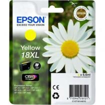 EPSON T 18 XL YELLOW - INKTCARTRIDGE GEEL 6.6ML