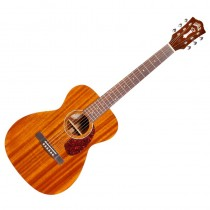 GUILD M-120E WESTERLY SOLID MAHOGANY - GITAAR WESTERN CONCERT NATURAL EQ