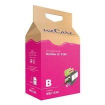 WECARE 1558 - INKTCARTRIDGE BROTHER LC1240 ROOD