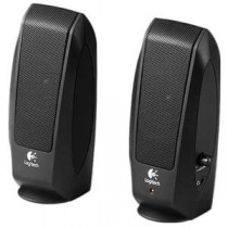 LOGITECH S-120 2.0 SPEAKER SYSTEM 980-000010 - LUIDSPREKER SET MP3 PC - 2.3W RMS