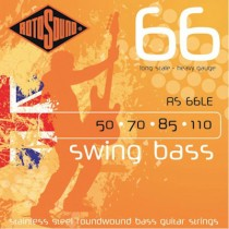 ROTOSOUND RS 66LE HEAVY - SNAREN BAS 050-110 LONG SCALE