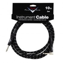 FENDER CUSTOM SHOP PERFORMANCE INSTRUMENT CABLE 099-0820-036 - KABEL JACK 6.3 1X HAAKS BK TWEED 3M