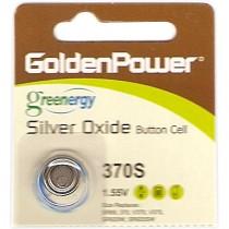 GOLDEN POWER 370S KNOOPCEL (SR920SW) - BATTERIJ HORLOGE 1.55V 20MAH