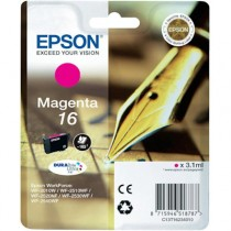 EPSON T 16 MAGENTA - INKTCARTRIDGE ROOD 3.1ML