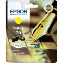 EPSON T 16 YELLOW - INKTCARTRIDGE GEEL 3.1ML