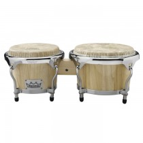 "REMO CR-P780-00 THAI SET - BONGO NATURAL 7"" + 8"" FIBERSKIN"