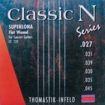 THOMASTIK CF-127 CLASSIC N SERIES - SNAREN KLASSIEK SUPERLONA FLATWOUND