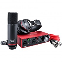 FOCUSRITE SCARLETT STUDIO 3RD GEN + MIC & HEADPHONE - AUDIO INTERFACE USB 2 XLR IN /2 OUT
