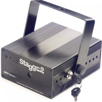 STAGG SLR CITY 1-2 BK EU FIREFLY / 3R RGY - LASER EFFECT 40MW GROEN 100MW ROOD