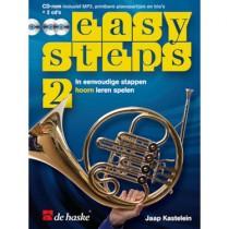 KASTELEIN, JAAP - EASY STEPS 2 HOORN + 2CD + DVD