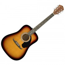 FENDER FA-125 SUNBURST - GITAAR WESTERN DREADNOUGHT SUNBURST