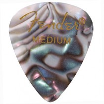 FENDER  351 PREMIUM CELLULOID PICKPACK 12 - PLECTRUM MEDIUM ABALONE