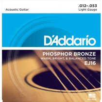 D'ADDARIO EJ16 - SNAREN 012-053 PHOSPHOR BRONZE