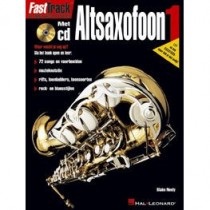 BLADMUZIEK METHODE + CD - FASTTRACK ALT SAXOFOON DEEL 1