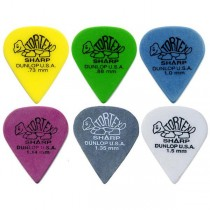 DUNLOP 412R TORTEX SHARP - PLECTRUM SCHERPE PUNT
