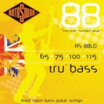 ROTOSOUND RS 88LD BLACK NYLON FLATWOUND