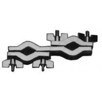 Gibraltar SC-BGC basis klem (Basic grabber clamp) met 2 grijpers.