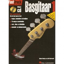 BLADMUZIEK METHODE + CD - FASTTRACK BASGITAAR DEEL 1