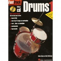 BLADMUZIEK METHODE + CD - FASTTRACK DRUMS DEEL 1