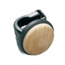 Tama CB90WH houten kop voor montage op de klopper van een Iron Cobra bass drum pedaal.