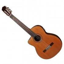 Salvador Cortez CC-60LCE linkshandige klassieke gitaar