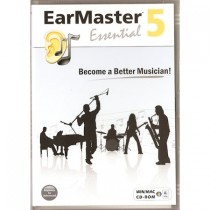 CD-ROM MUZIEK SOFTWARE - EARMASTER 5 ESSENTIAL