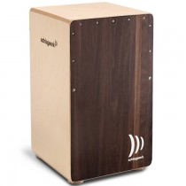 SCHLAGWERK CP408 DARK OAK - CAJON 2IN-ONE SNARE 30X30X50CM
