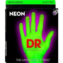 DR neon green gitaar snaren 010 - 046