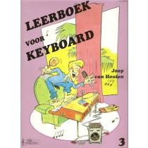 HOUTEN, JOOP VAN - LEERBOEK 3 VOOR KEYBOARD