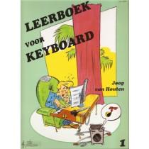 HOUTEN, JOOP VAN - LEERBOEK 1 VOOR KEYBOARD