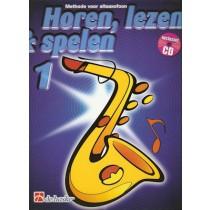ALTSAX METHODE 1 + CD - HOREN, LEZEN & SPELEN