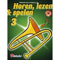 HOREN, LEZEN & SPELEN - TROMBONE TC METHODE DEEL 3 + CD