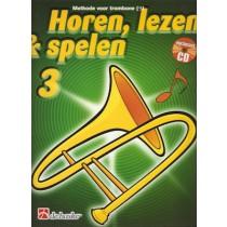 HOREN, LEZEN & SPELEN - TROMBONE BC METHODE DEEL 3 + CD