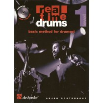 OOSTERHOUT, ARJEN + CD - REAL TIME DRUMS METHODE