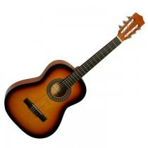 Gomez 036/VSB driekwart Spaans / klassieke gitaar met nylon snaren in de kleur Vintage Sunburst