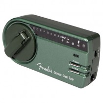 FENDER GT-1000 GREEN TUNER - STEMAPPARAAT CHROMATISCH WIND-UP