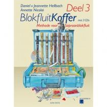 HELLBACH, DANIEL & JEANNETTE - BLOKFLUITKOFFER DEEL 3 + 3CD