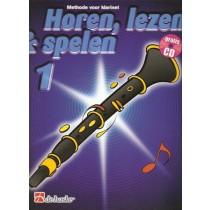 HOREN, LEZEN & SPELEN - KLARINET METHODE DEEL 1 + CD