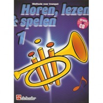 HOREN, LEZEN & SPELEN - TROMPET METHODE DEEL 1 + CD