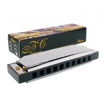 Belcanto HRM-20-F blues harp mondharmonica in F stemming