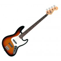FENDER JAZZ BASS STANDARD 014-6200-532 - BASGITAAR RW BROWN SUNBURST