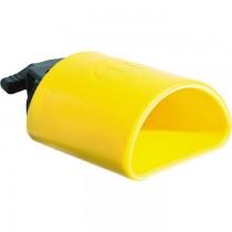 Latin Percussion LP1305 geel kunststof Blast Block met een hoge toon.